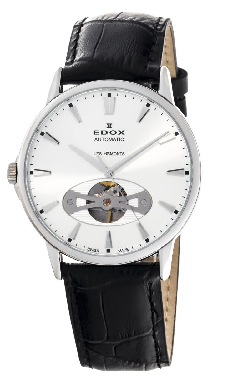 Часы Edox Les Bemonts Open Heart 85021 3 AIN