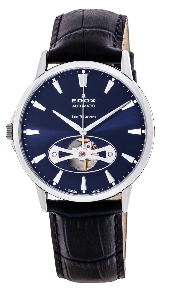 Часы Edox Les Bemonts Open Heart 85021 3 BUIN