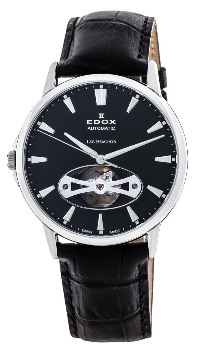 Часы Edox Les Bemonts Open Heart 85021 3 NIN