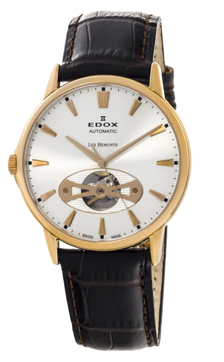 Часы Edox Les Bemonts Open Heart 85021 37R AIR