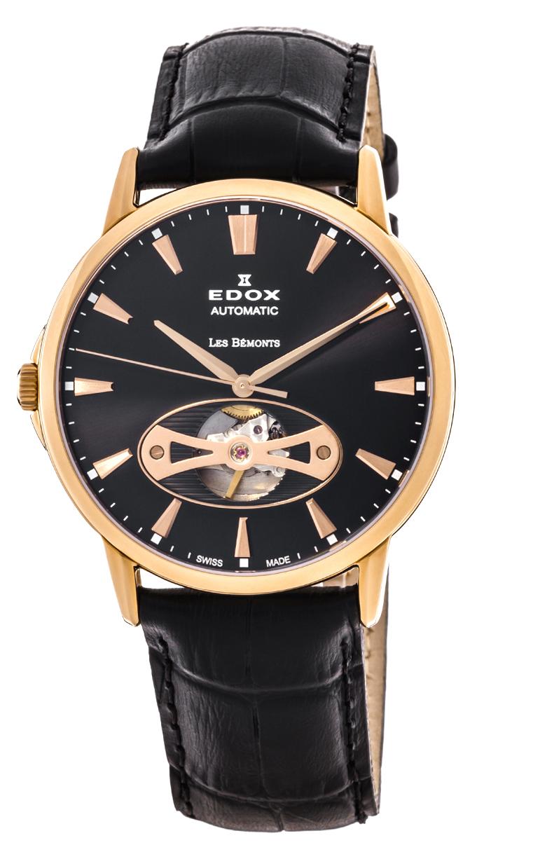 Часы Edox Les Bemonts Open Heart 85021 37R NIR