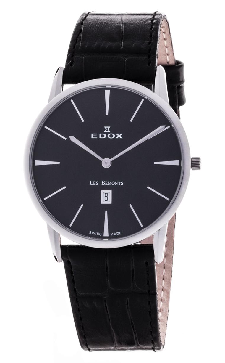 Часы Edox Les Bemonts Ultra Slim 26023 3 NIN