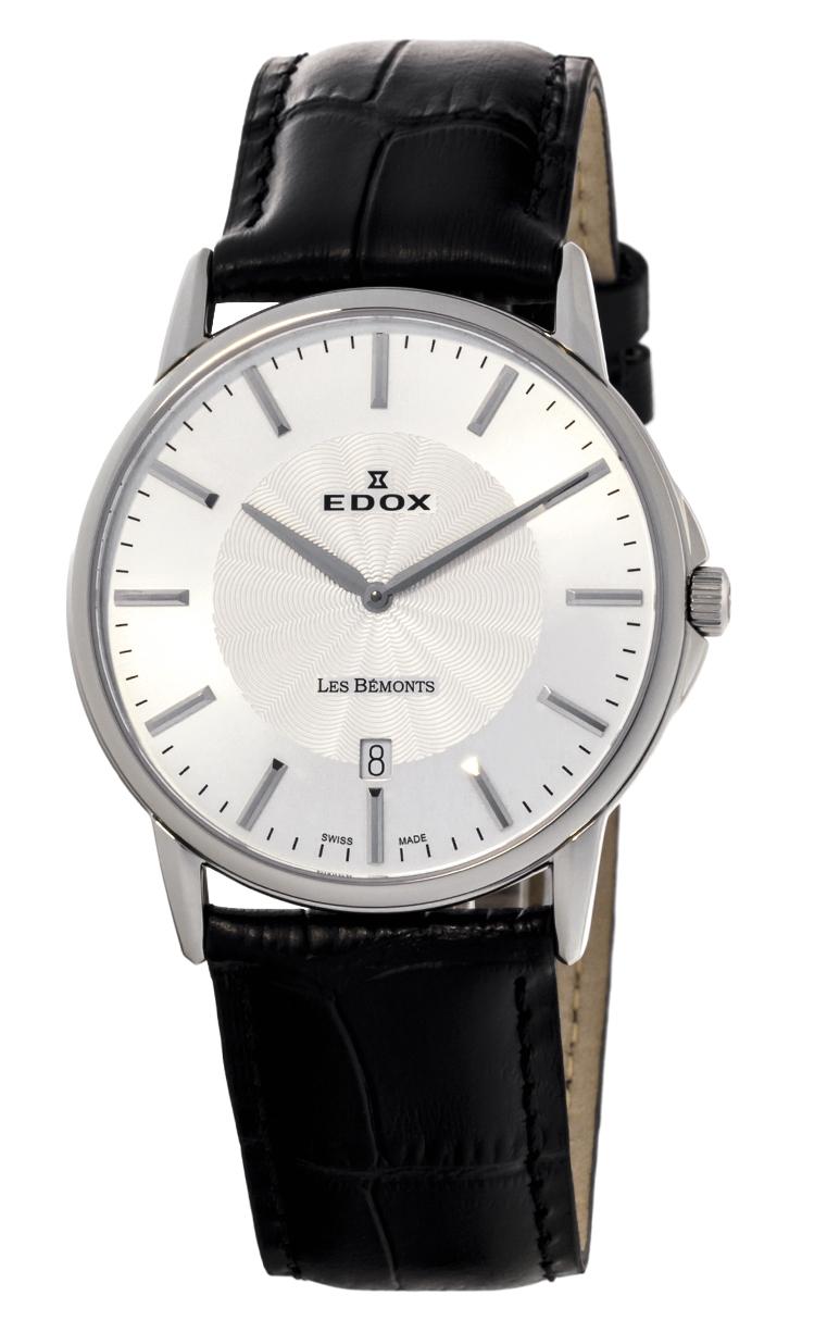 Часы Edox Les Bemonts Ultra Slim 56001 3 AIN
