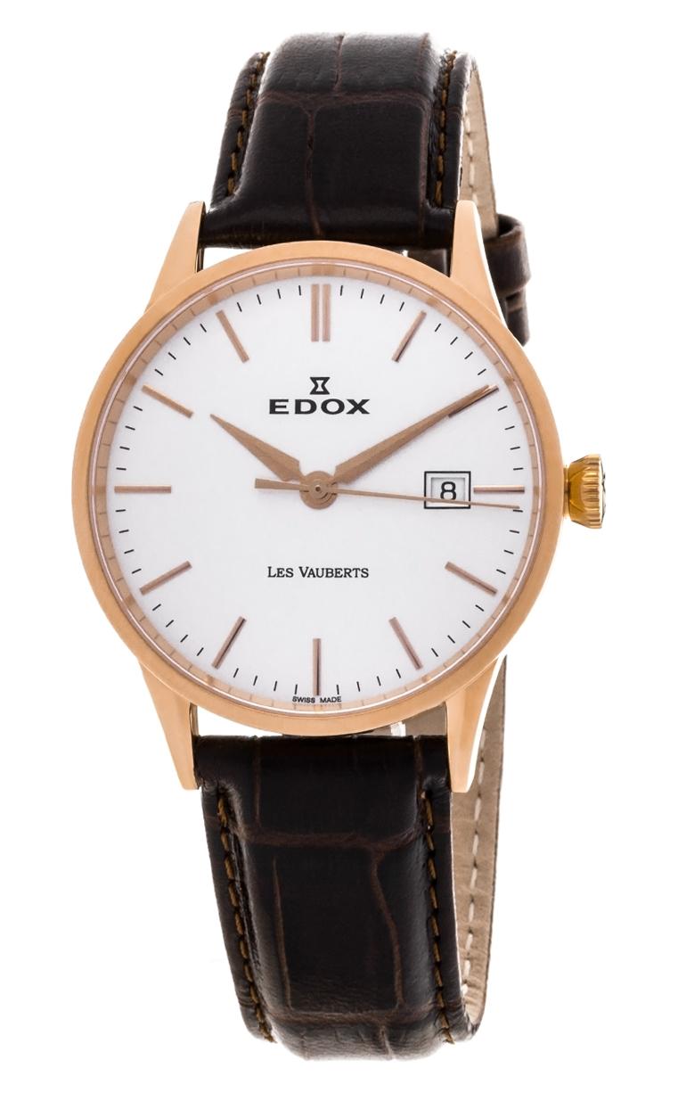 Часы Edox Les Vauberts 3-Hands Date 70162 37R AIR