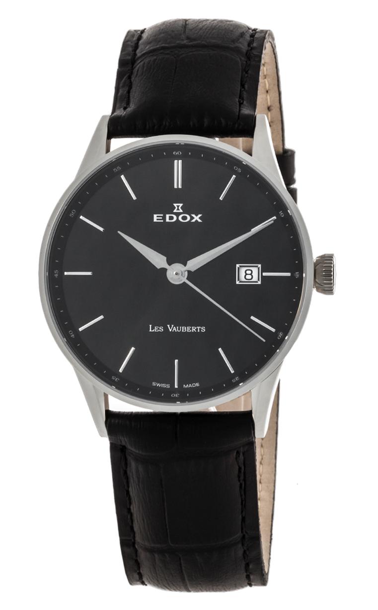 Часы Edox Les Vauberts 3-Hands Date 70172 3N NIN