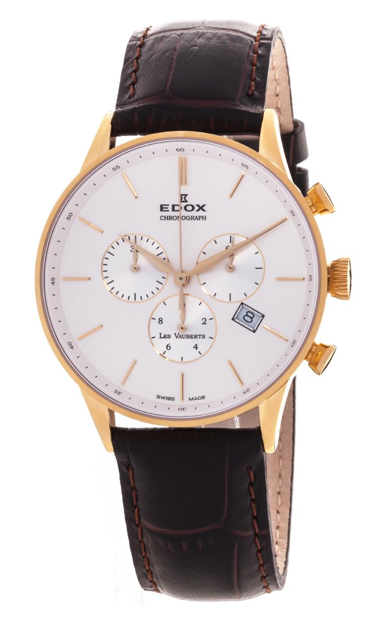 Часы Edox Les Vauberts Chronograph 10408 37JA AID