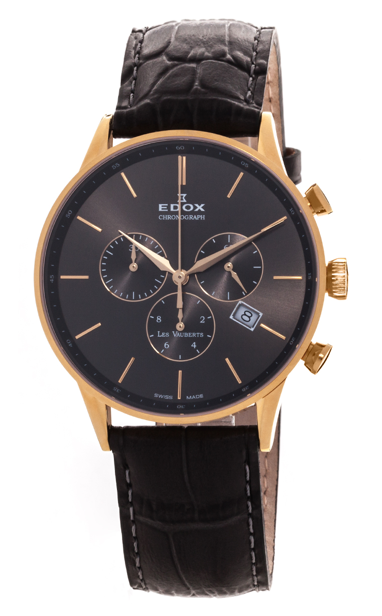 Часы Edox Les Vauberts Chronograph 10408 37JG GID