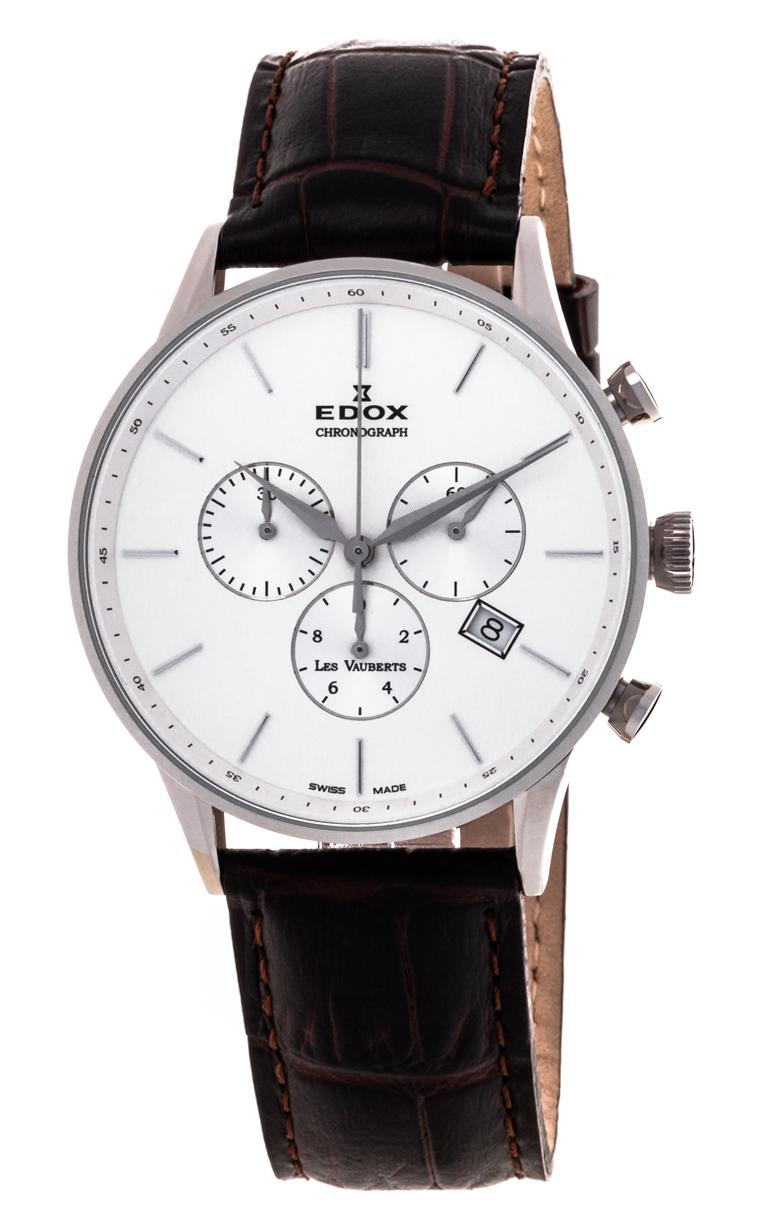 Часы Edox Les Vauberts Chronograph 10408 3A AIN