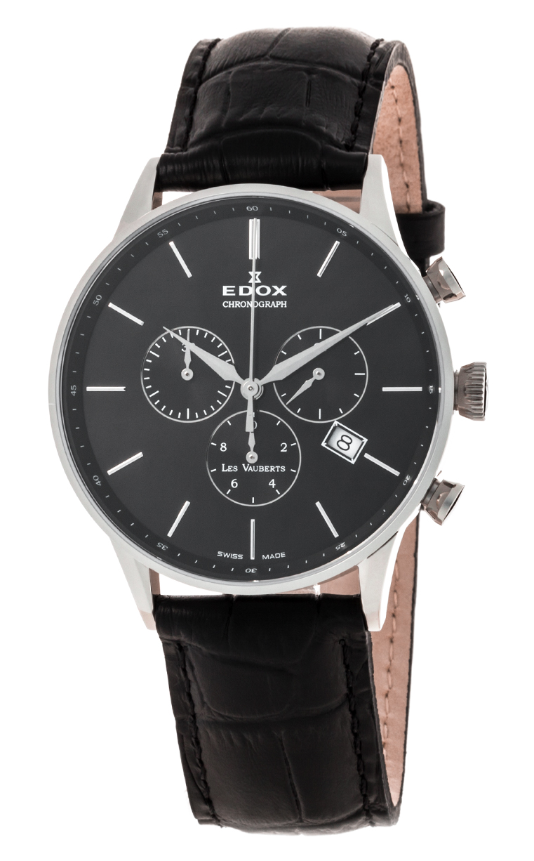 Часы Edox Les Vauberts Chronograph 10408 3N NIN