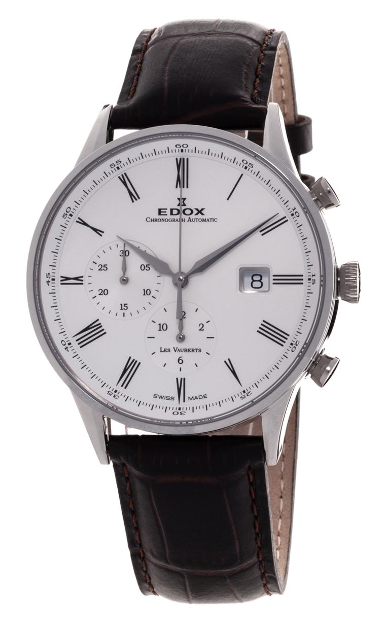 Часы Edox Les Vauberts Chronograph Automatic 91001 3 AR