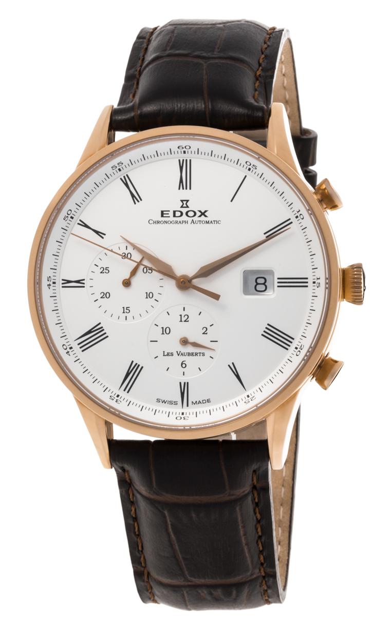 Часы Edox Les Vauberts Chronograph Automatic 91001 37R AIR