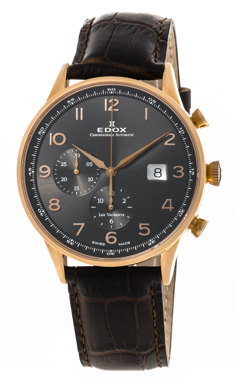 Часы Edox Les Vauberts Chronograph Automatic 91001 37R GBR