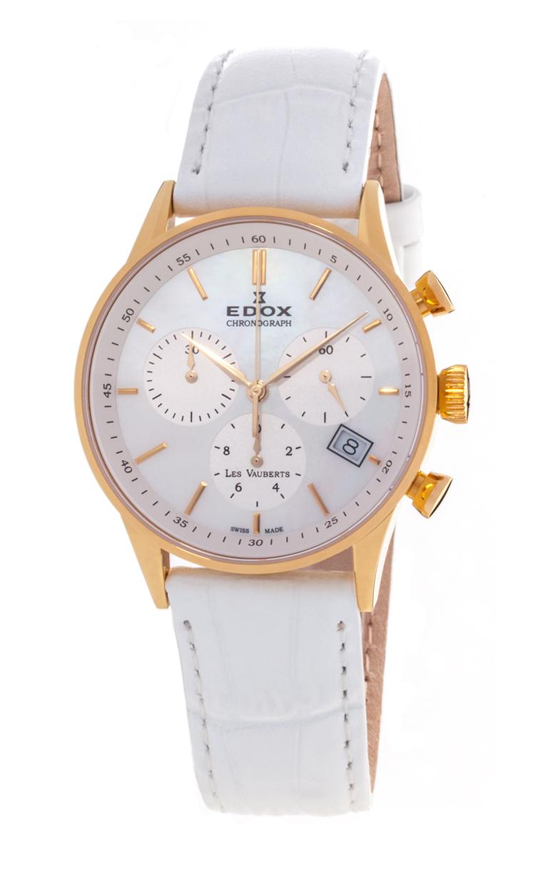 Часы Edox Les Vauberts Chronolady 10401 357J NAID