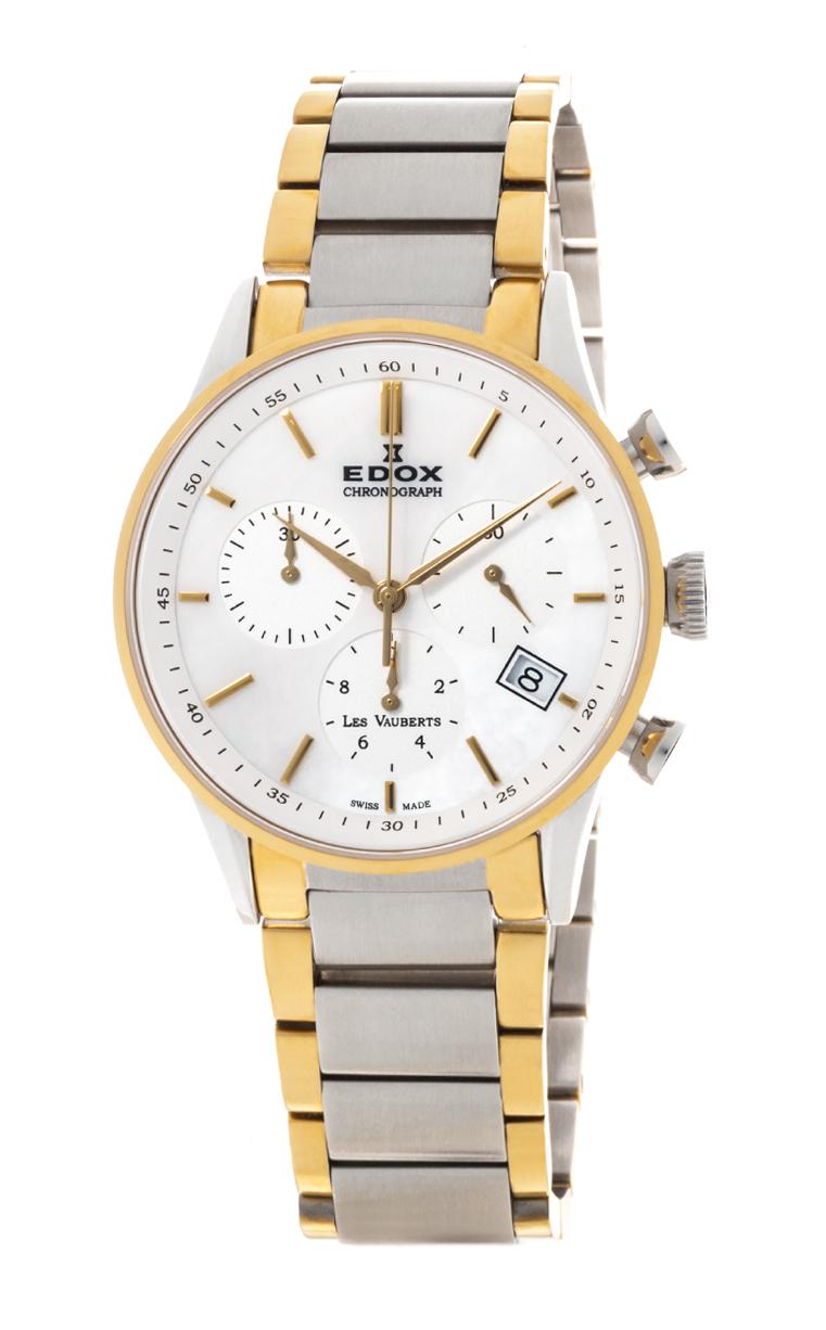 Часы Edox Les Vauberts Chronolady 10402 357J NAID