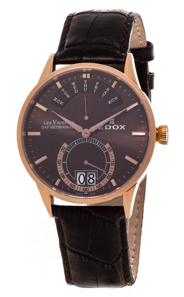 Часы Edox Les Vauberts Day Retrograd 34001 37R BRIR