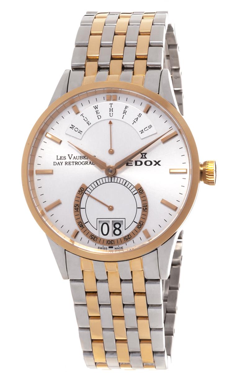 Часы Edox Les Vauberts Day Retrograd 34002 357 AID