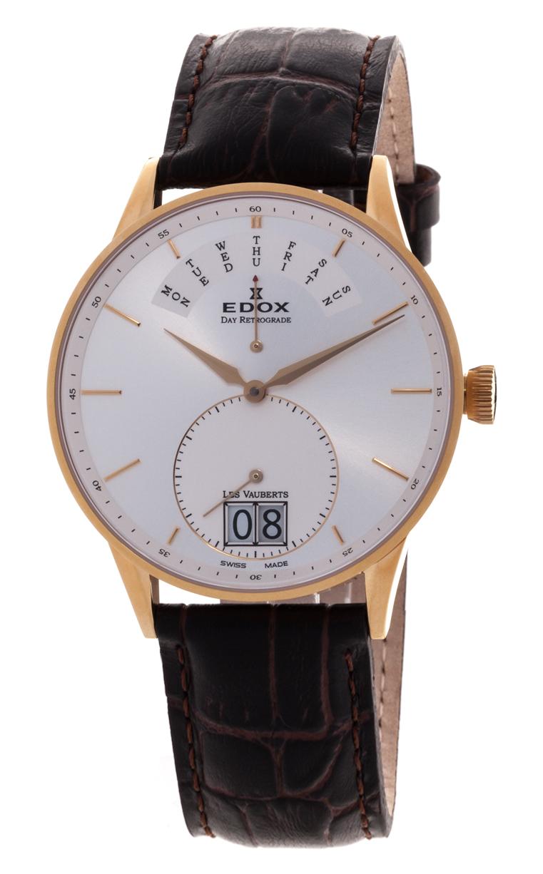 Часы Edox Les Vauberts Day Retrograd 34005 37JA AID