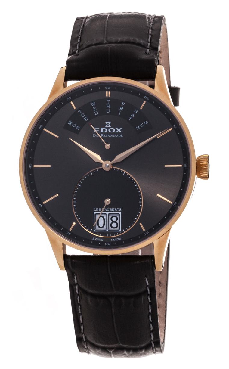 Часы Edox Les Vauberts Day Retrograd 34005 37JG GID