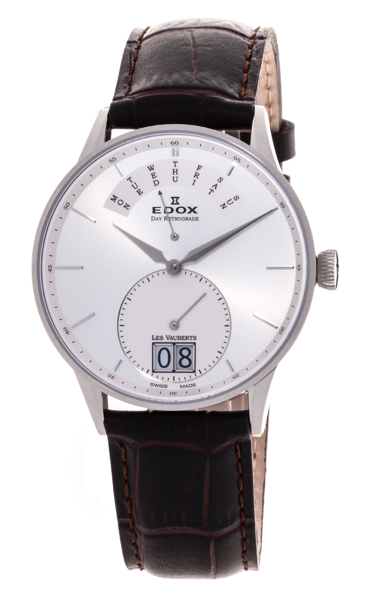 Часы Edox Les Vauberts Day Retrograd 34005 3A AIN