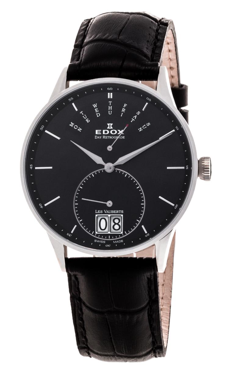 Часы Edox Les Vauberts Day Retrograd 34005 3N NIN