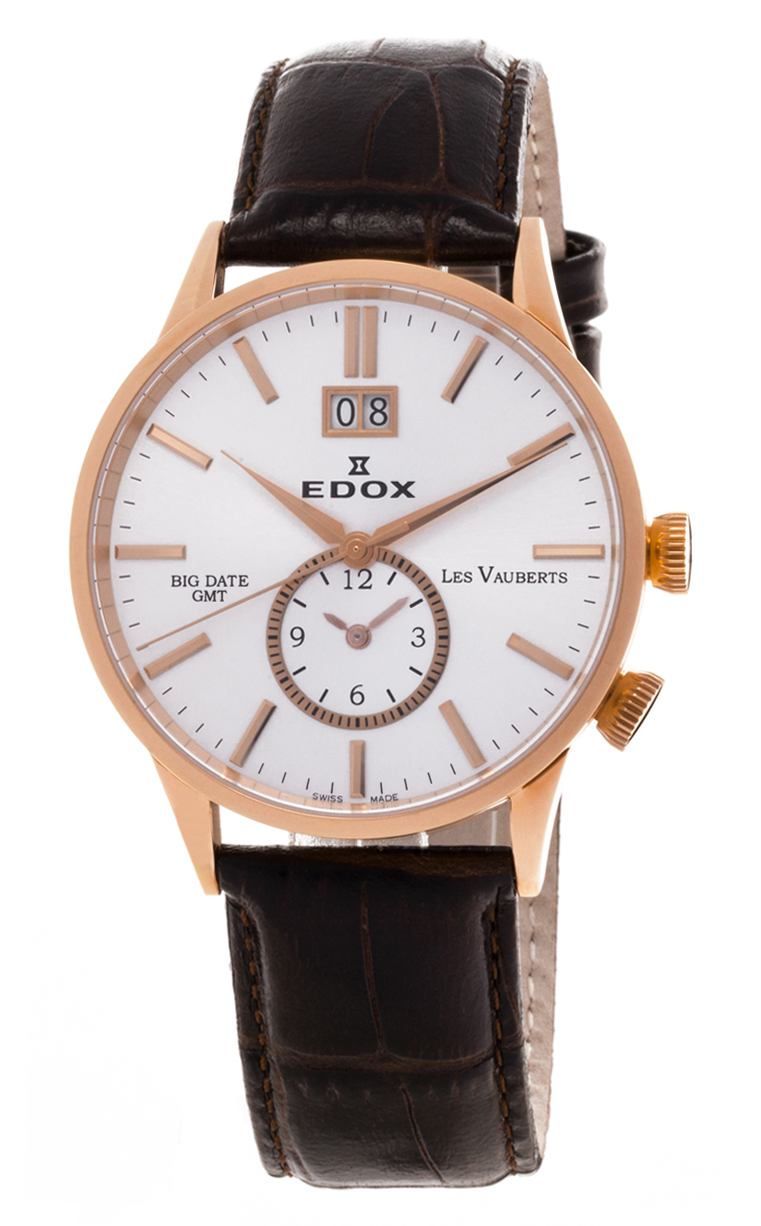 Часы Edox Les Vauberts GMT 62003 37R AIR