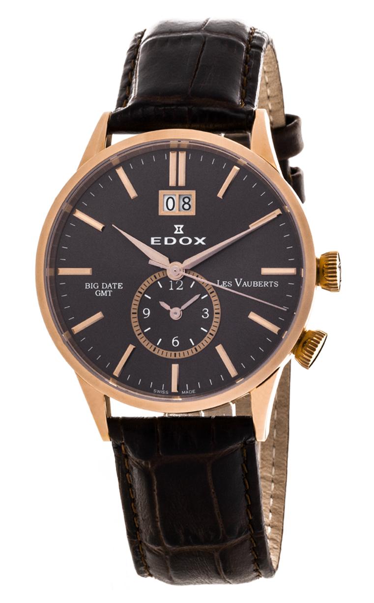 Часы Edox Les Vauberts GMT 62003 37R BRIR