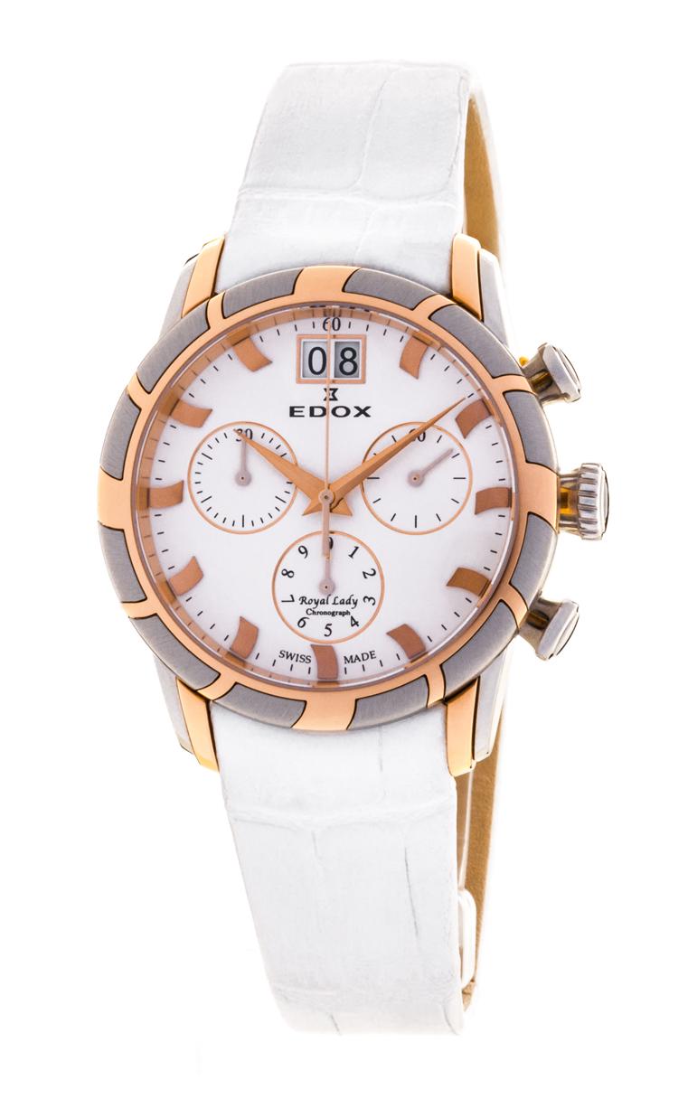 Часы Edox Royal Lady Chronolady 10018 357R AIR