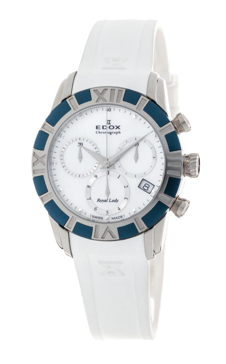 Часы Edox Royal Lady Chronolady 10405 357B NAIN