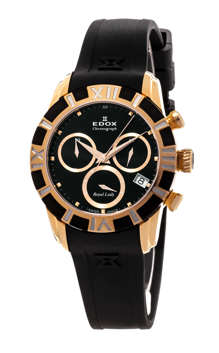 Часы Edox Royal Lady Chronolady 10405 357JN NID