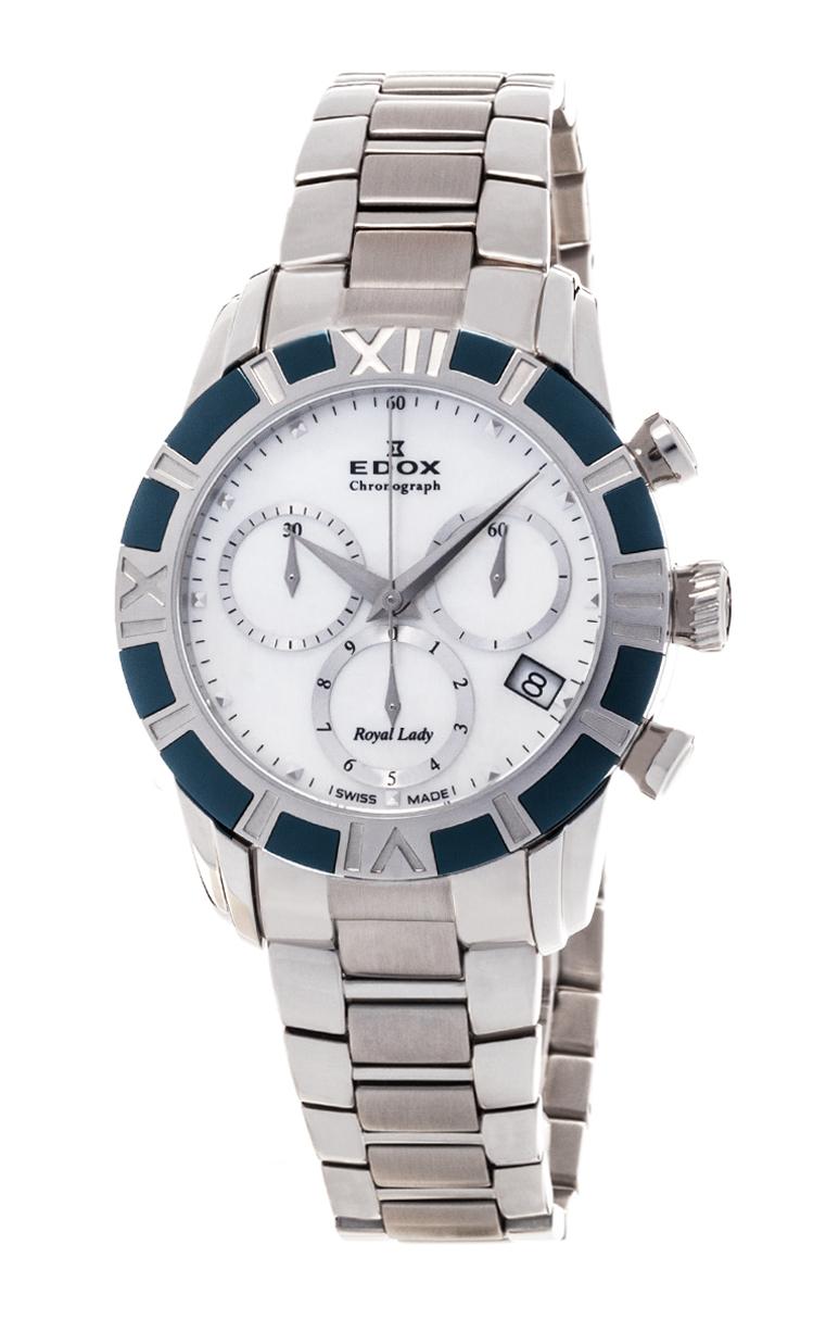 Часы Edox Royal Lady Chronolady 10406 357B NAIN