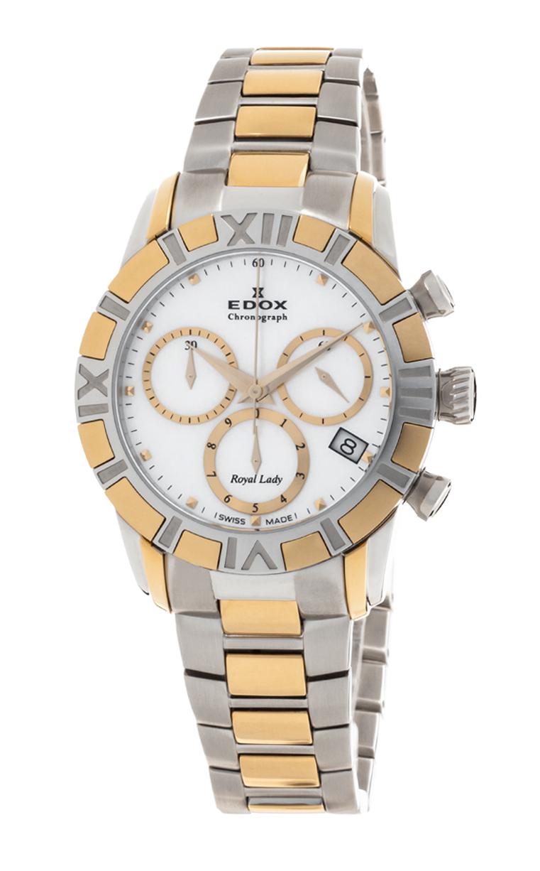 Часы Edox Royal Lady Chronolady 10406 357J NAID
