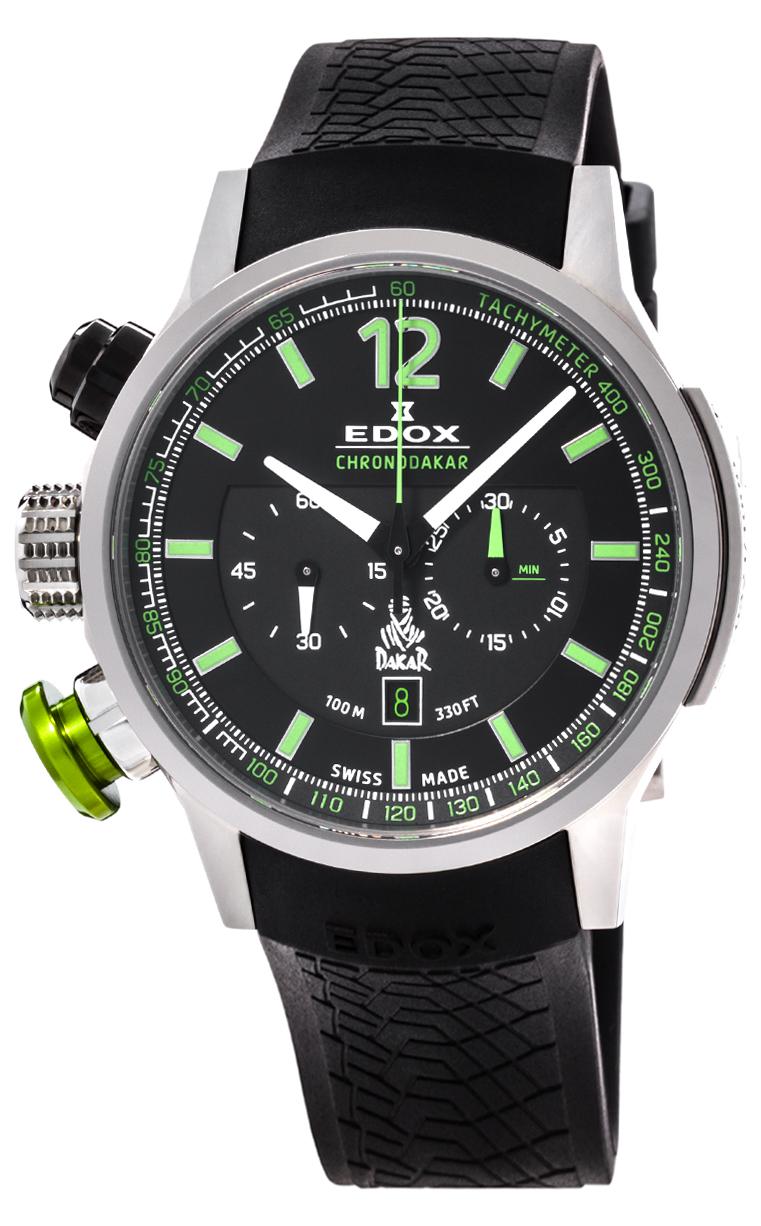 Часы Edox WRC Chronodakar L.E. 10303 TIN NV