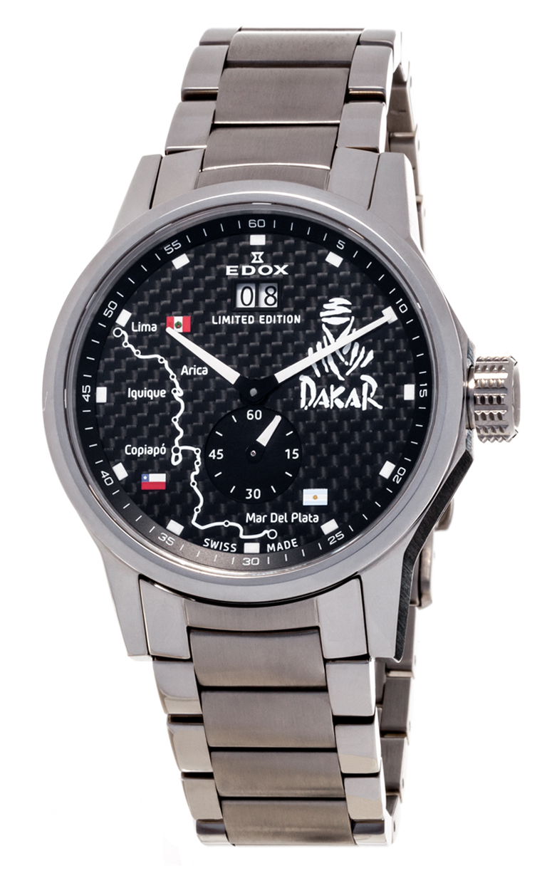 Часы Edox WRC Dakar L.E. 64009 3 NIN2