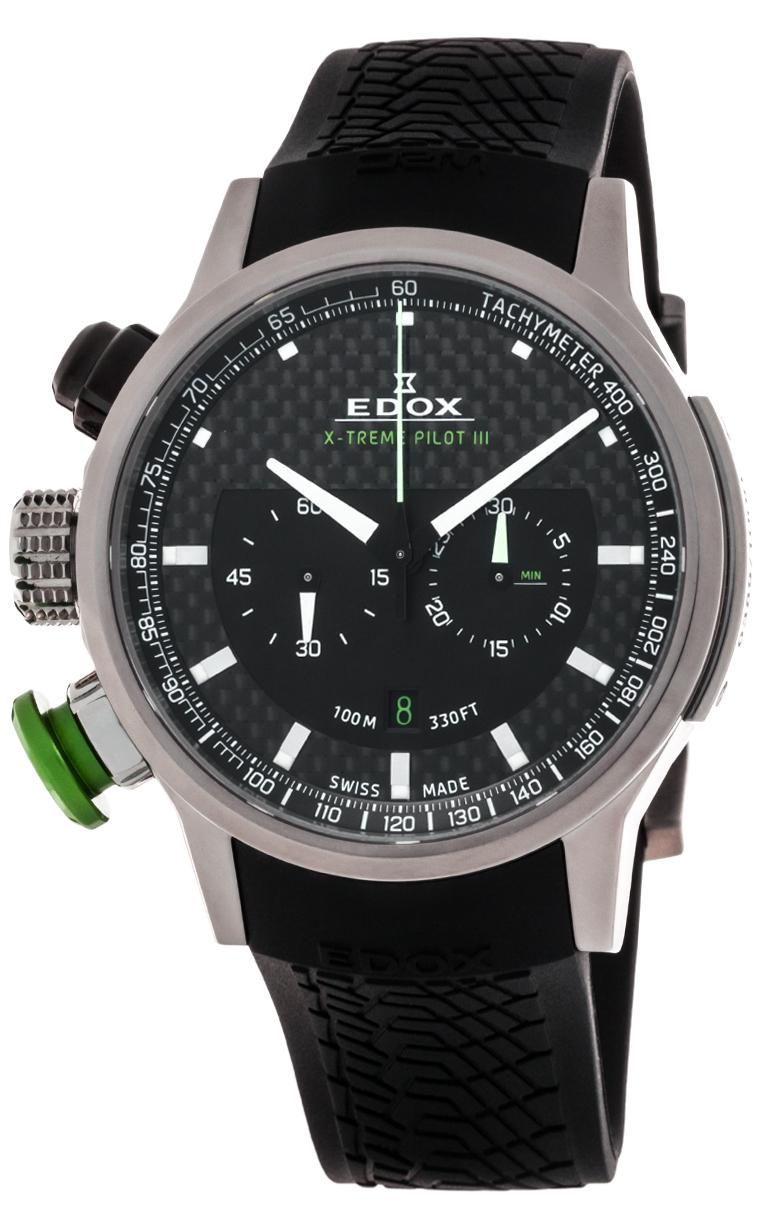 Часы Edox WRC Extreme Pilot III L.E. 10303 TIN NIN