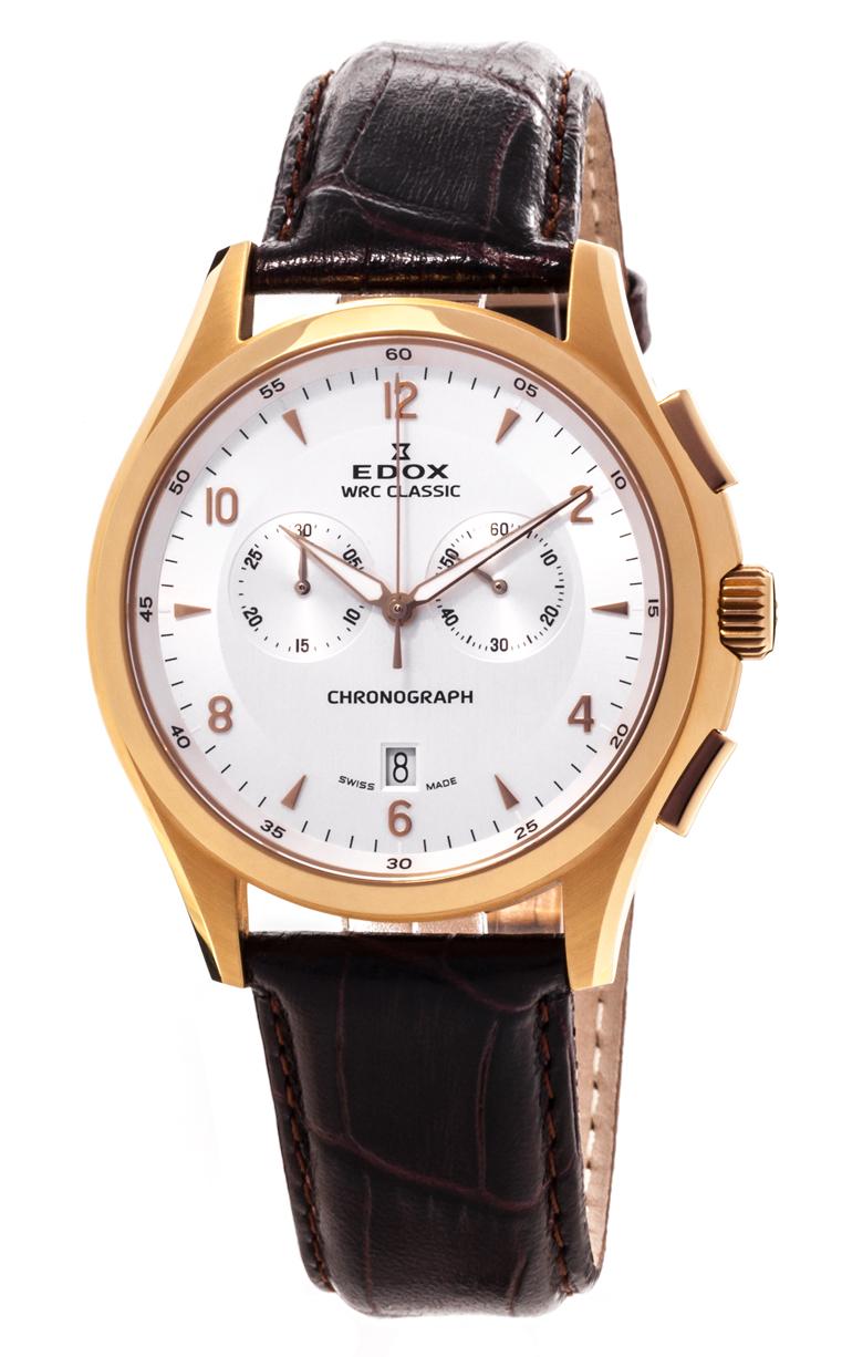 Часы Edox WRC Classic Chronograph 10101 37J AID