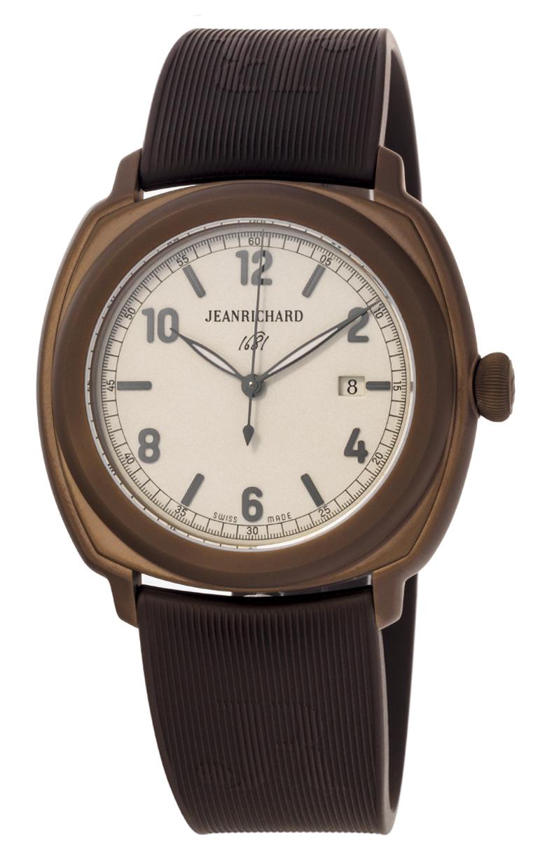 Часы JeanRichard 1681 Date 60320-11-852-FKBA