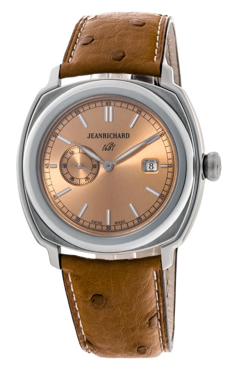 Часы JeanRichard 1681 Small Second Date 60330-11-B31-QDP0