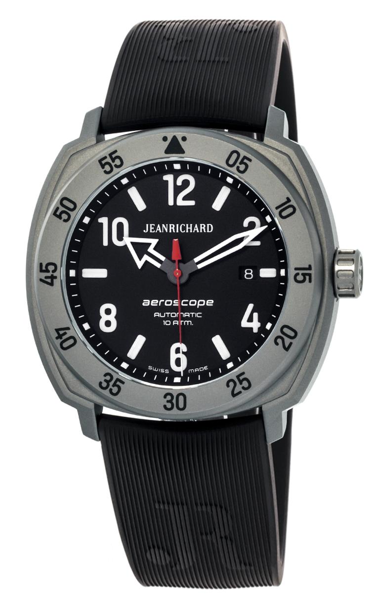 Часы JeanRichard Aeroscope Date 60660-21G651-FK6A