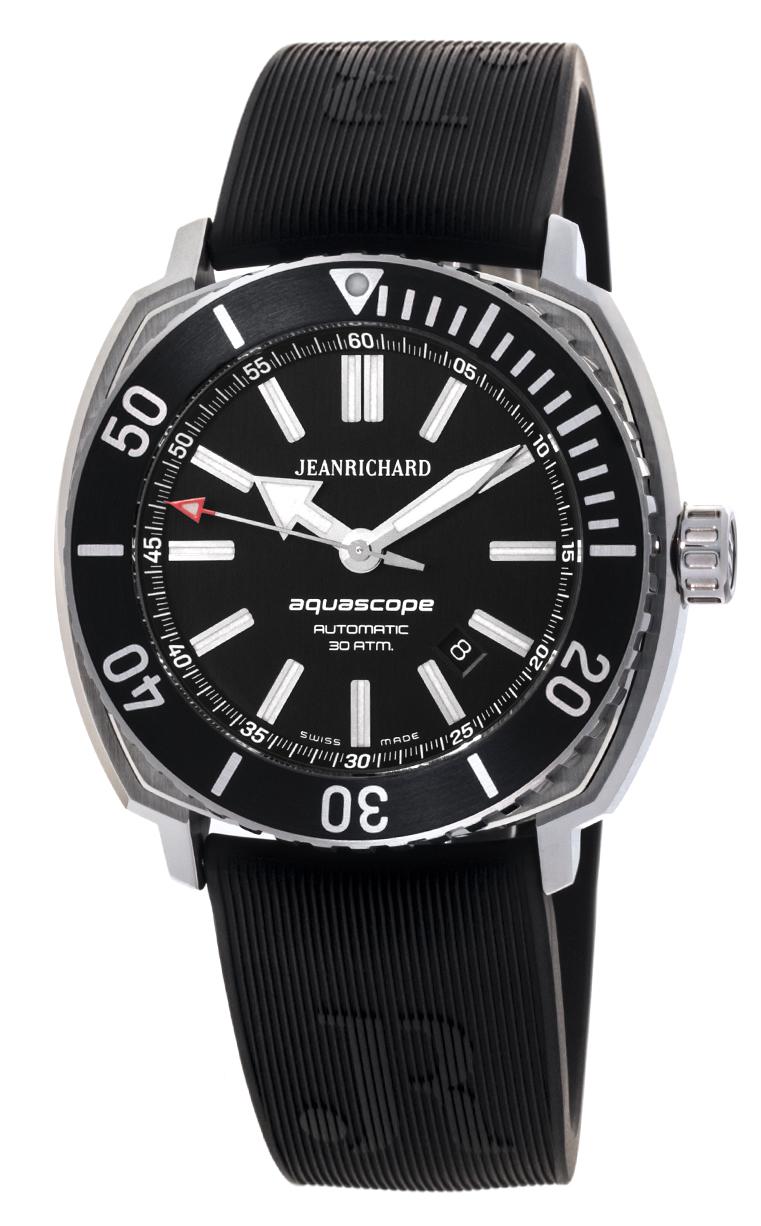 Часы JeanRichard Aquascope Date 60400-11C601-FK6A