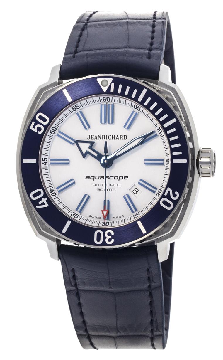 Часы JeanRichard Aquascope Date 60400-11D705-FB4A