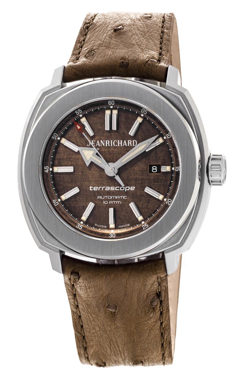 Часы JeanRichard Terrascope Date 60500-11-203-QBBA