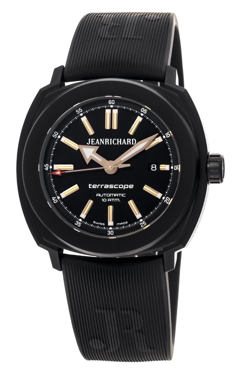 Часы JeanRichard Terrascope Date 60500-11-602-FK6A