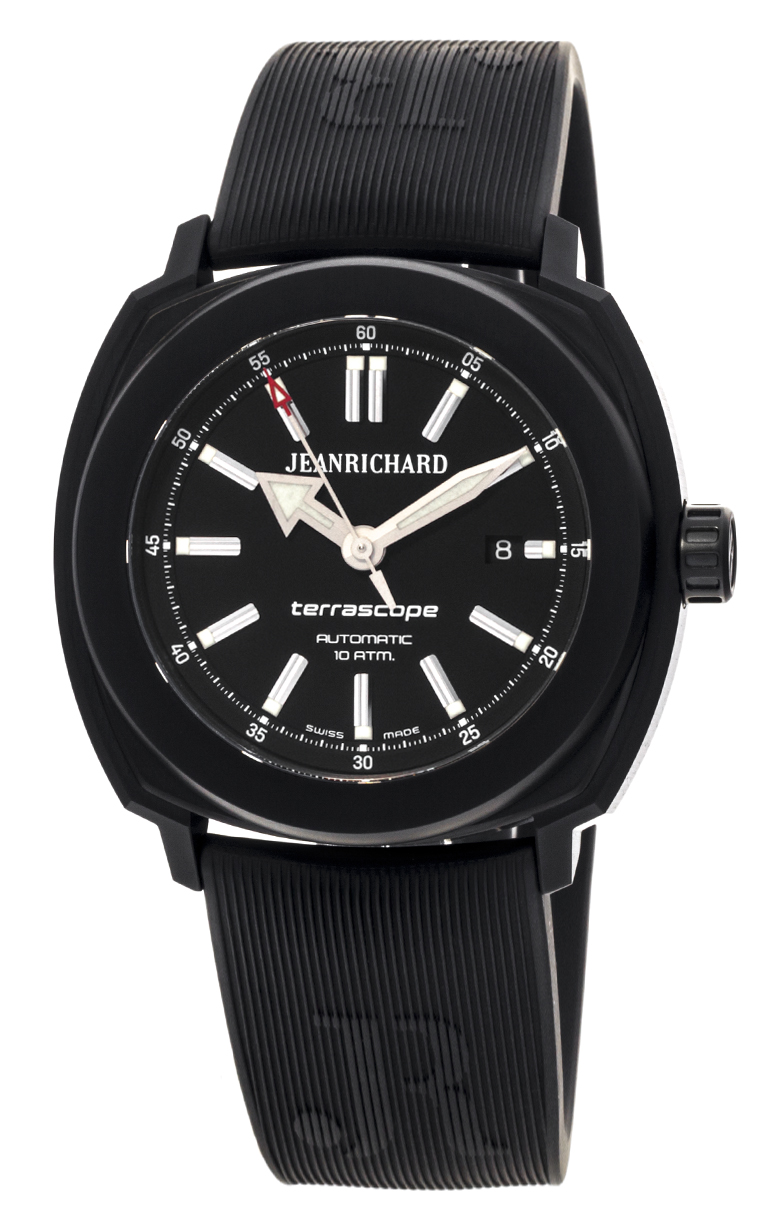 Часы JeanRichard Terrascope Date 60500-11-609-FK6A