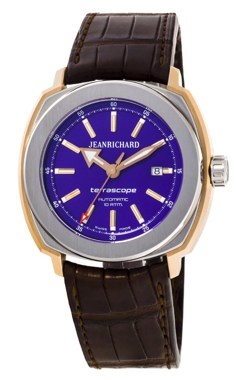 Часы JeanRichard Terrascope Date 60500-56-401-BBBB