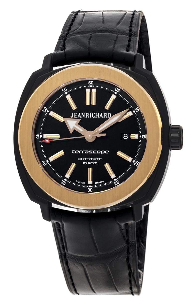 Часы JeanRichard Terrascope Date 60500-56-603-BB60