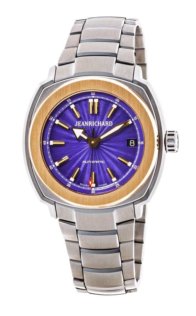Часы JeanRichard Terrascope Date Diamonds 60510-56-402-11A