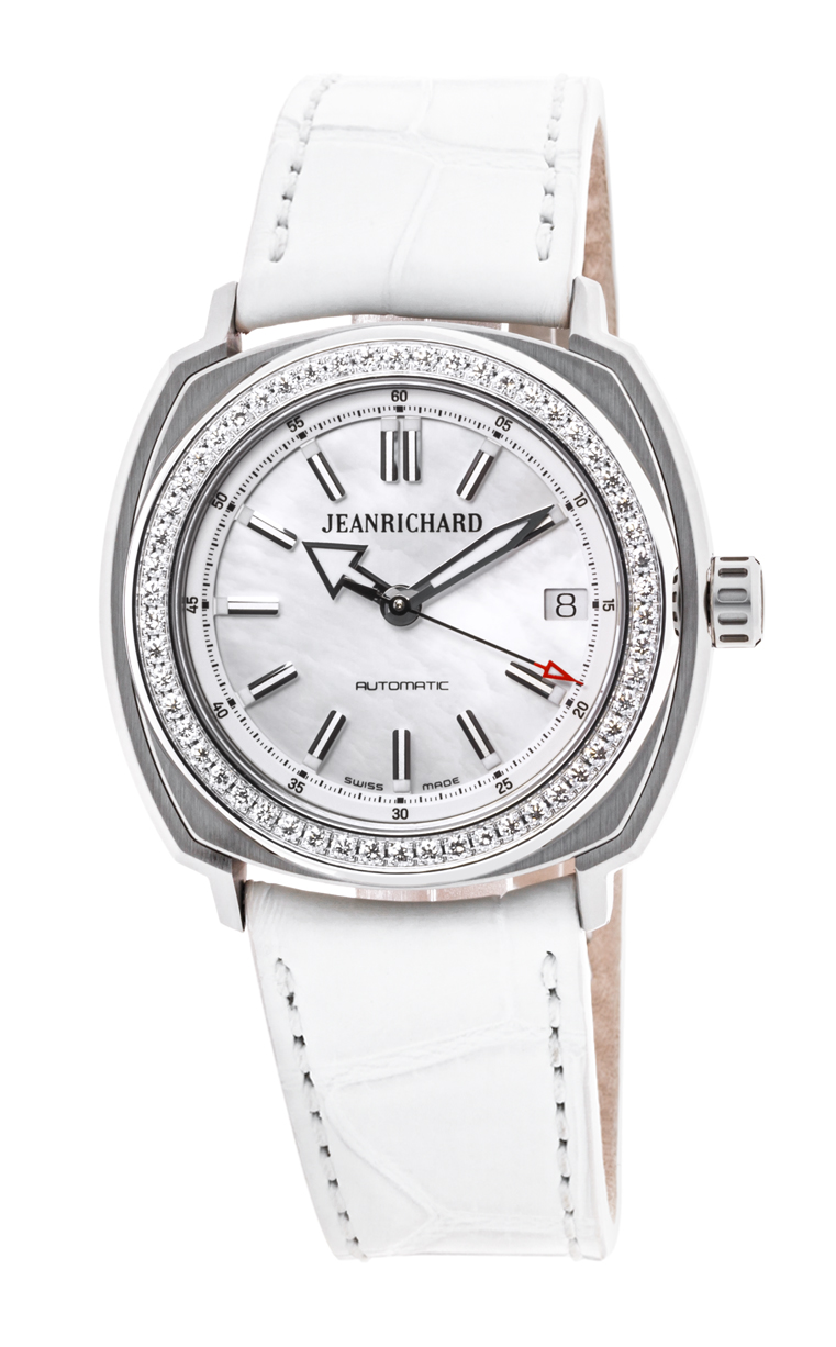 Часы JeanRichard Terrascope Date Diamonds 60510D11A701-BB7A
