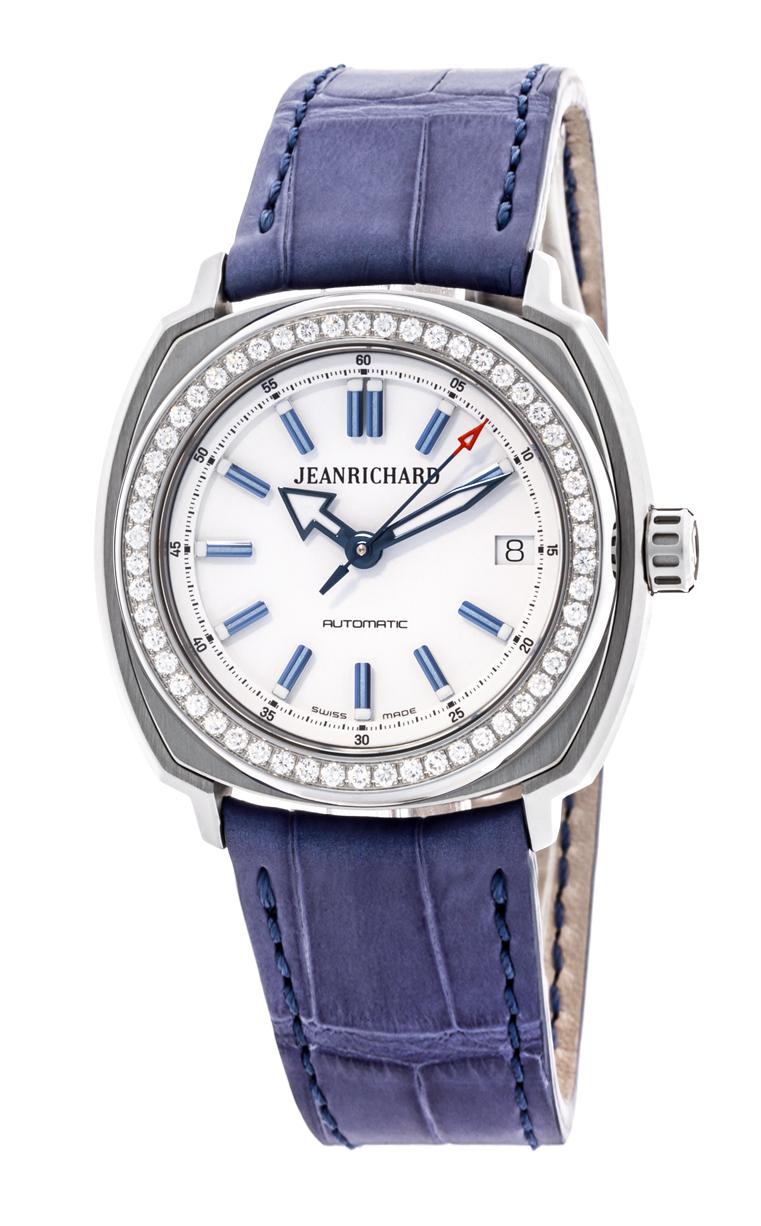 Часы JeanRichard Terrascope Date Diamonds 60510D11A702-BB4A
