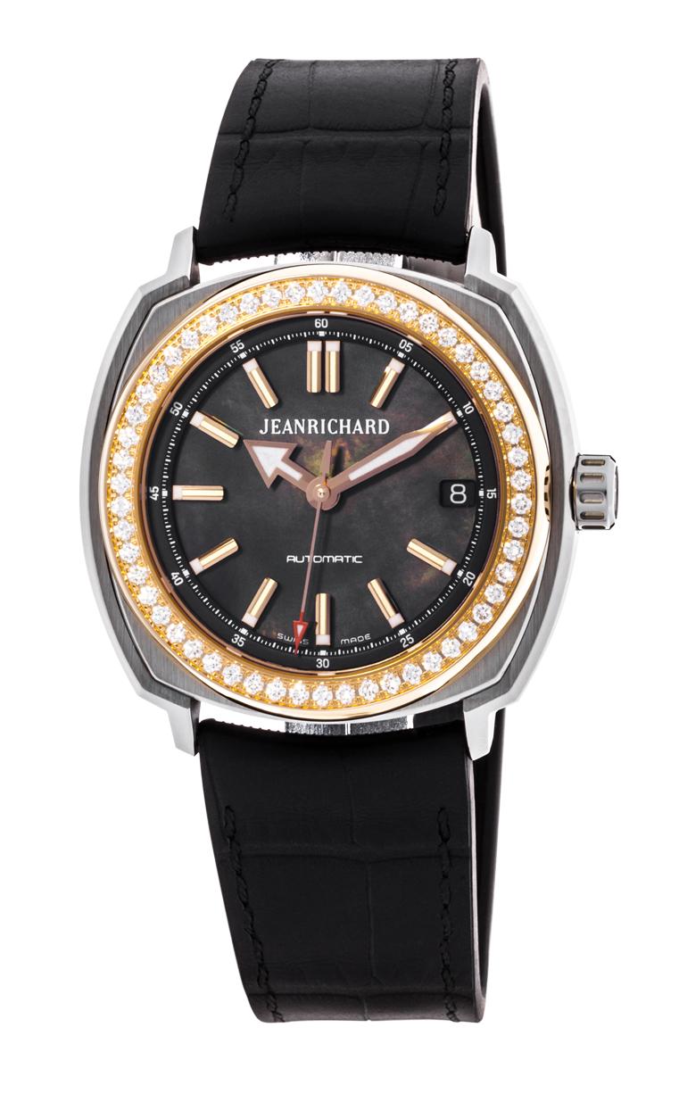 Часы JeanRichard Terrascope Date Diamonds 60510D56A602-FK6A