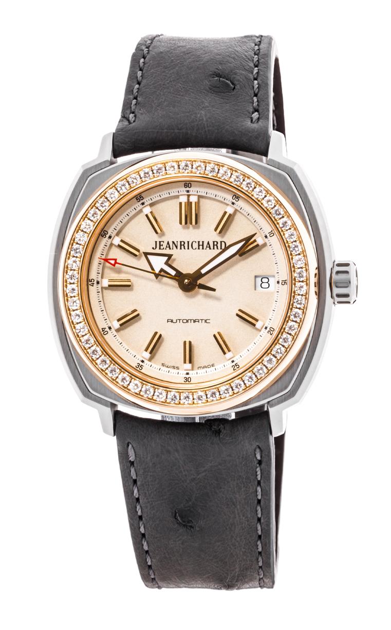Часы JeanRichard Terrascope Date Diamonds 60510D56A801-QB2A